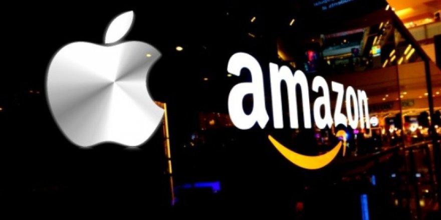Apple En Değerli Şirket Oldu! Amazon'a çok Fark Attı!