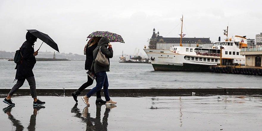 Meteoroloji: İstanbul, Kocaeli, Düzce için uyarıda bulundu