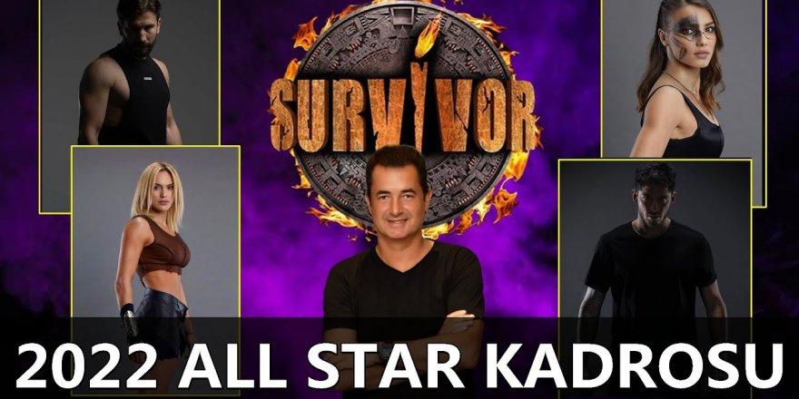 Survivor 2022 All Star'a Katılacak Yarışmacılar Belli Oldu! Acun Ilıcalı Survivor 2022'ye Katılacak İsimleri Tek Tek Açıkladı